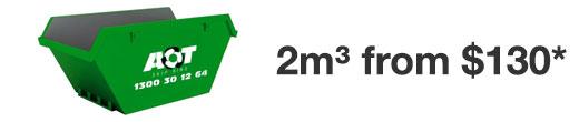 2m skip bin
