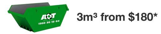 3m skip bin